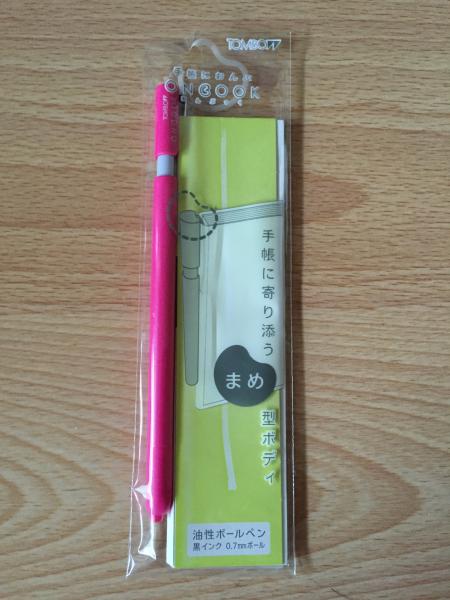 TombowのONBOOKというボールペンの芯をZEBRAのジェルインク替え芯に交換